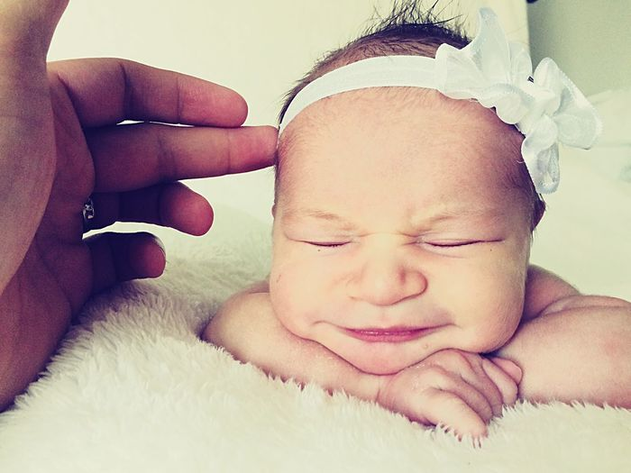 Could you just keep your head up? NewBorn Photography Newborn Baby Life's Moments Smartphonephotography