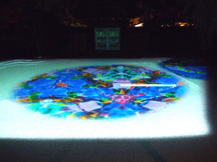 Kyoto Japan Higashiyama Koudaiji Temple Garden Projection Mapping Kaleidoscope Night Spring Olympus PEN-F 京都 日本 東山 高台寺 万華鏡 夜 春
