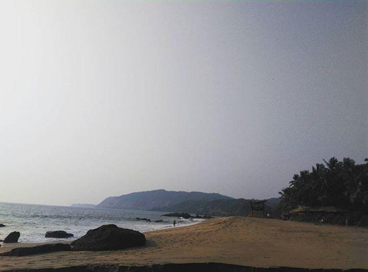 Colabeach Hiddentreasure Cliff Goanbeaches💜 Goantrip Indianocean Mobilography Bestbeachesihaveeverseen