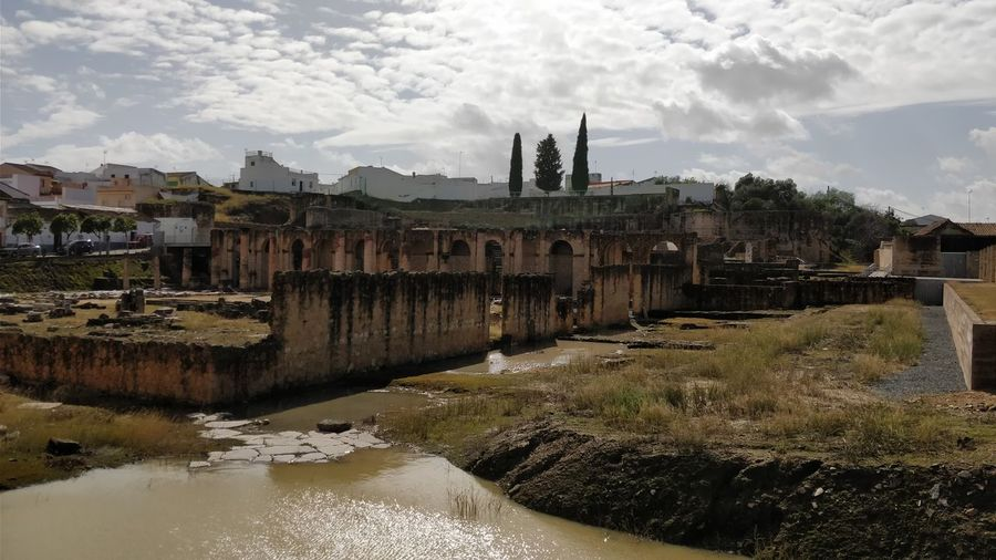 circo romano Itálica Historic Old Ruin Castle Ancient Ruined Archaeology Civilization Ancient Civilization Ancient Rome History