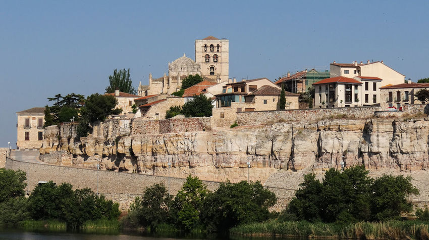 ezefer Architecture Built Structure Tree Building Exterior Sky Plant Clear Sky Nature Building No People History The Past City Day Travel Destinations Outdoors Residential District Old Travel Rock Ancient Civilization Zamora Zamora, Spain