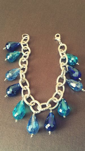 Handmade Jewellery crystals... The Blue Stone