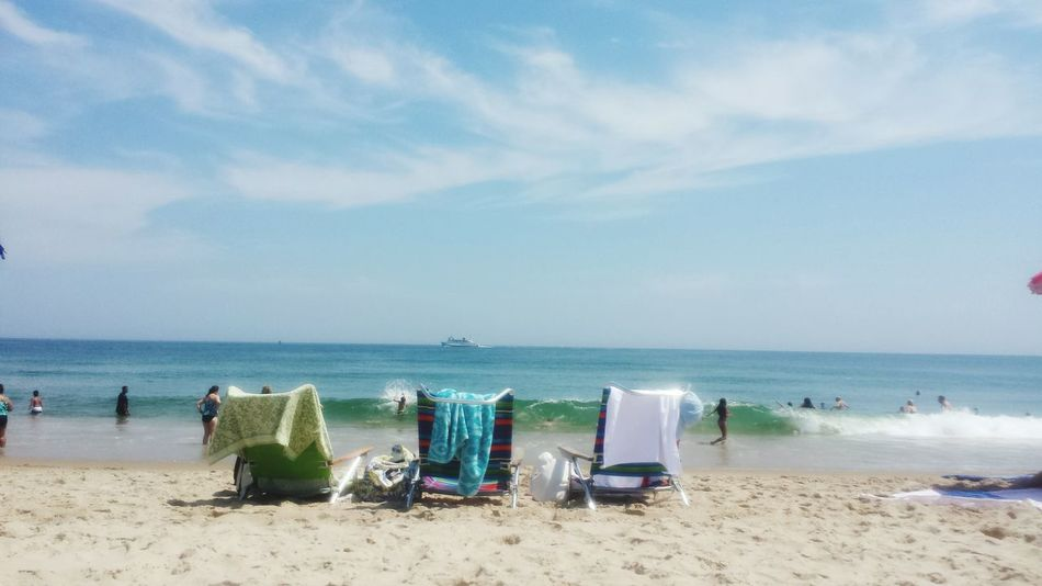Hot Day Summertime Enjoying Life Waterscape Beach Life Block Island Relaxing Streamzoofamily Rhode Island Summer2015