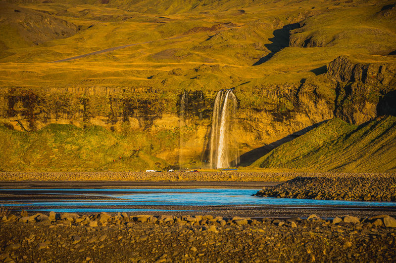 Iceland Water Waterfall