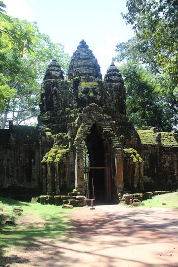Ankor Thom Ankor Thom Cambodia Ancient Ancient Civilization Architecture Building Exterior History Old Ruin Travel