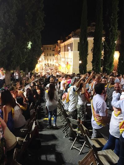 Siena Italy Contrada Festa Party Valmontone Cena della prova generale Palio Di Siena Enjoying Life Love Music Nightlife