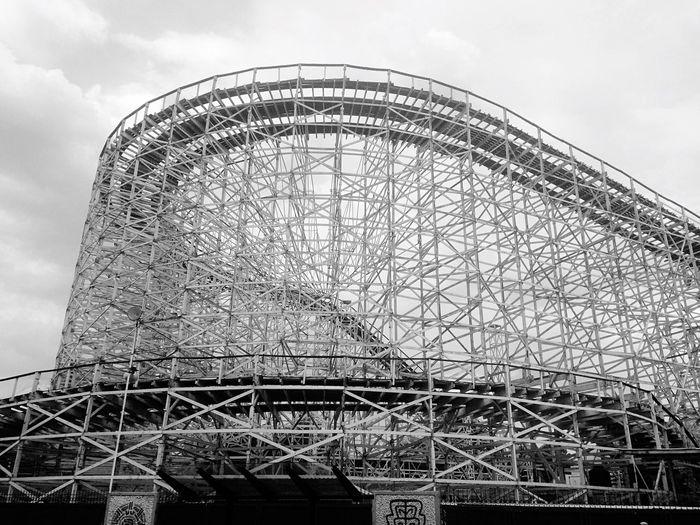 Roller Coaster Amusementpark Park Theme Park Mexico City Mexico Chapultepec Eye4photography  EyeEm Gallery EyeEm Best Shots - Black + White Blackandwhite Black And White Black & White Eye4photography  EyeEm Best Shots Lookingup