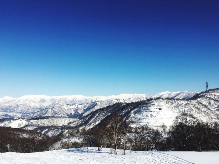 Snow Snow ❄ Enjoying Life Happy :) Happy Holiday POV Holiday Holidays Snowboarding Japan かぐら Blue Blue Sky