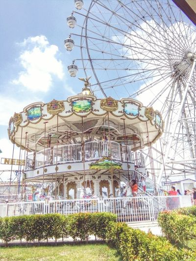 Amusement Park Amusement Park Ride Sky Ferris Wheel Arts Culture And Entertainment Outdoors Day Traveling Carnival Rollercoaster Tree No People