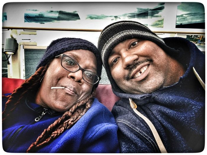 Hanging out with the wife. IPhoneography Travel Photography Hanging Out IPhone Selfie Carnival Vista Cruising Cruise Time Maiden Voyage Trieste Trieste, Italy