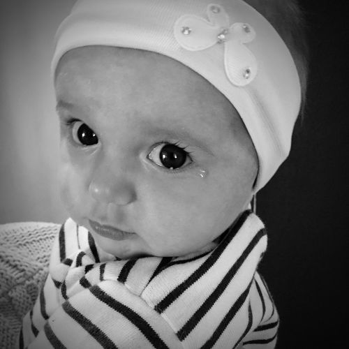 Check This Out Taking Photos My Kids Blackandwhite My Loves❤ IPhoneography Crying My Love