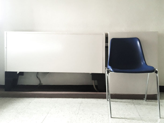 Bluer than blue. The Week On EyeEm EyeEmNewHere Indoors  Chair Neat Day Hospital Chair Visitor's Chair