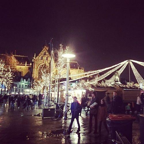 Antwerpen Kerstmarkt Sfeer