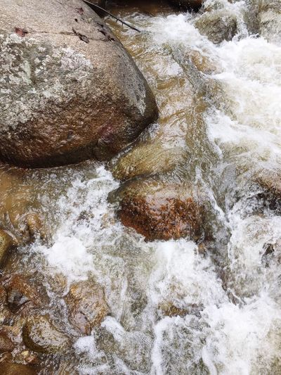 River north of Thailand Water Rock - Object Nature No People Outdoors Waterfall Beauty In Nature Close-up
