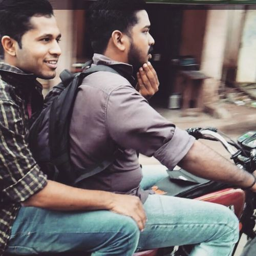 Rx100 Economyride Quicktrottle Rohith Paravur_meenambalam_road Njoying Refreshing