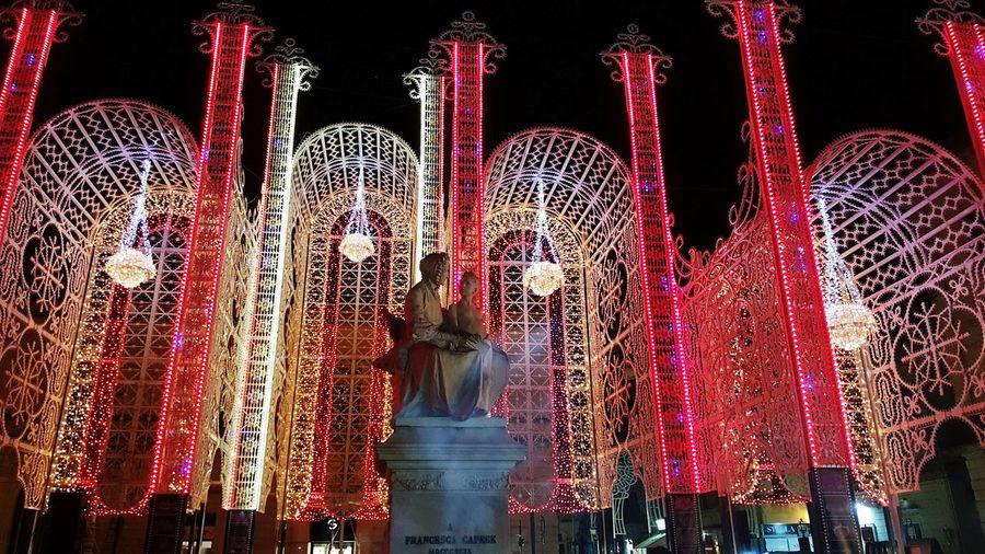 Red Technology SanNicola Maglie Lecce Festa Luminarie Beautiful Francesca Capece