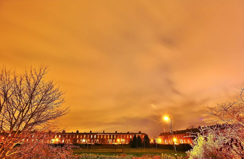 The lamppost. Night Lights Clouds Streetphotography Long Exposure Wide Angle