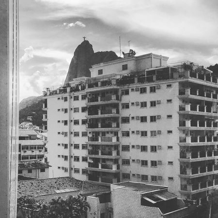 Architecture Architecture Black And White Botafogo Brasil Brazil Building Exterior Built Structure City Cityscape Corcovado Cristo Redentor Day IPhoneography No People Outdoors Residential Building Rio De Janeiro Rio De Janeiro Eyeem Fotos Collection⛵ Sky Summer Window