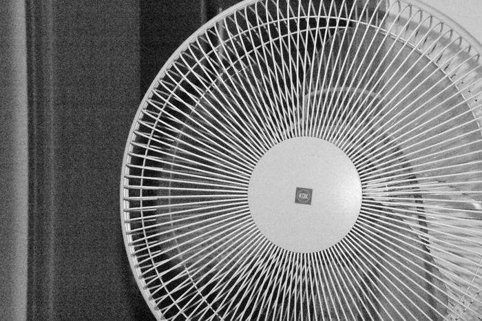Black And White Circle Circle Close-up Electric Fan Fan Freeze Frame High ISO High Shutter Speed Indoors  No People