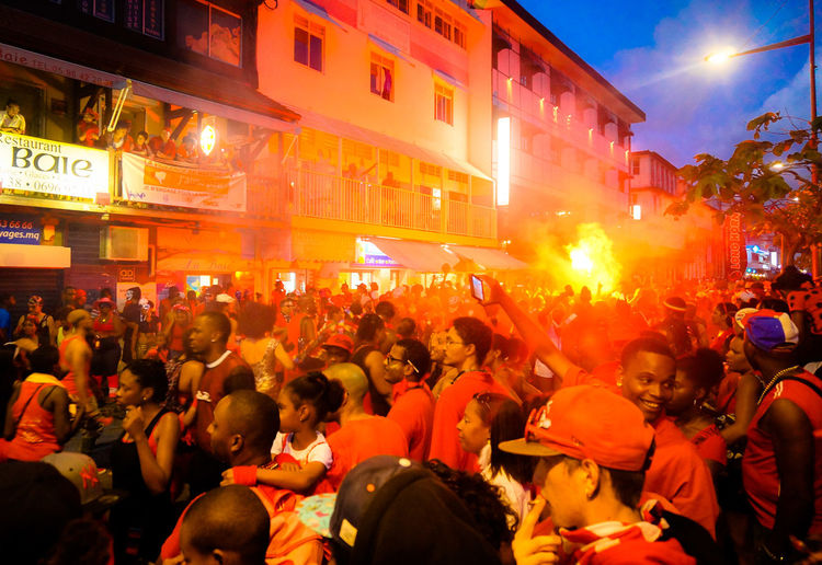 Mardi Gras Carnaval 2014 Impossible Moments Martinique Etincelle