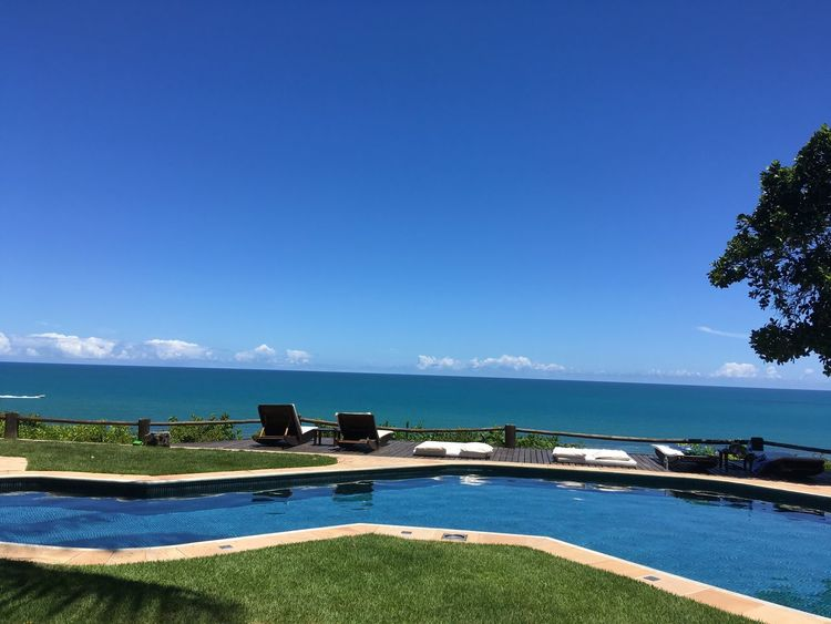 Arraial Dajuda - Bahia - Brazil EyeEmNewHere Nofilter Water Sky Blue Sea Plant Scenics - Nature Tree Nature Swimming Pool Tranquility Tranquil Scene Beach Pool Horizon Over Water Horizon EyeEmNewHere