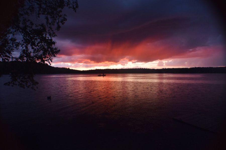 Sunset Beauty In Nature Dramatic Sky Sky Cloud - Sky Orange Color Eye For Photography Hi! Leica First Eyeem Photo Enjoying Life Taking Photos EyeEm Relaxing Seyhan River