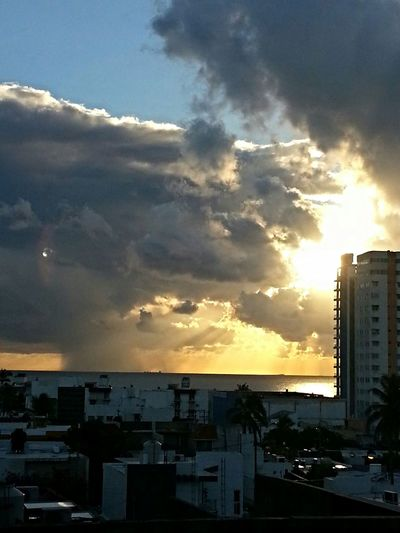 Taking Photos My View Sky Light And Shadow Skyviewers Sky And Clouds Sunrise Sunrisephotography Sunrise And Clouds Morning Sunrise Sunrise Silhouette Enjoying The View Picture from Boca Del Rio Veracruz Gulf Of Mexico