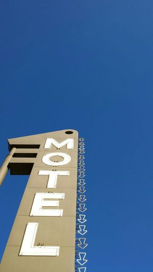 San Francisco Geary Boulevard Motel Neon Arrows