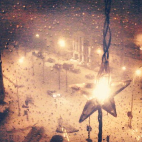 Burning lights, freezing nights Snow Neigenoir Antwerpbynight