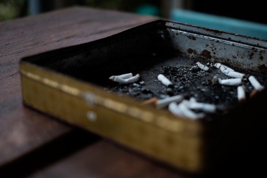 Ashtray  Cigarette  Classicchrome Fujifilm Fujifilm X-E2 Fujifilm_xseries Metal Tobacco タバコ タバコ 吸殻 灰皿 煙草