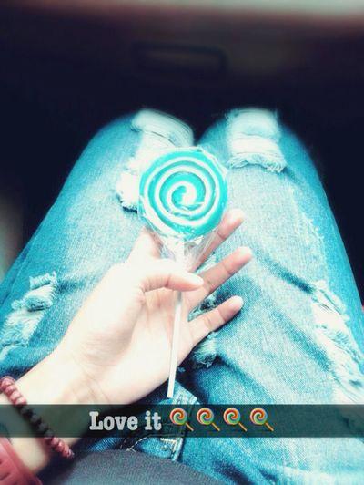 Good Morning World! Happy Sunday Sunday Morning Lolypop Sweet ❤️??