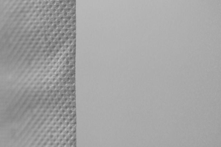 Dimpled Architecture Backgrounds Black Color Blank Close-up Copy Space Day Detail Full Frame Gray Indoors  Kitchen Room Material Nature No People Paper Pattern Textile Textured  Vertical Wall - Building Feature