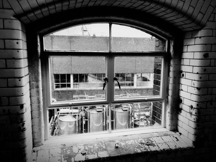 Guinessstorehouse Window Arch Indoors  Built Structure Building Exterior City Life Historic IPhoneography