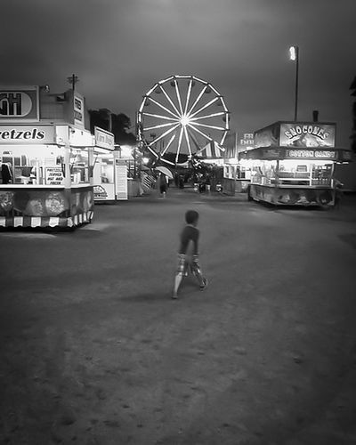 Hello World Carnival On A Mission Autism Adventure First Eyeem Photo Monochrome Bnw_life Explore Massachusetts Boy Childhood Ferris Wheel Snowcone