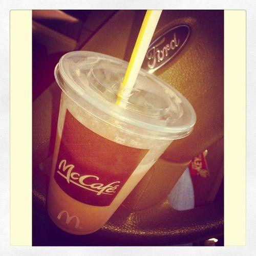 McCafe Ford Smoothie Strawberrybanana