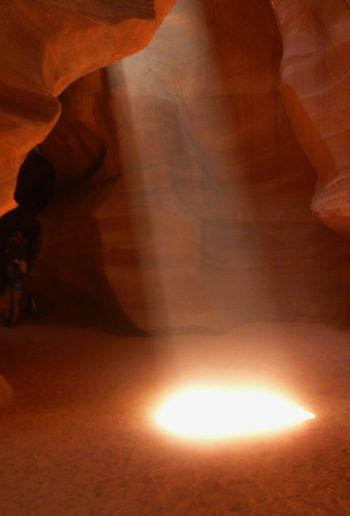 LIGHT Antelope Canyon Cayon Day Illuminated Nature Sunray