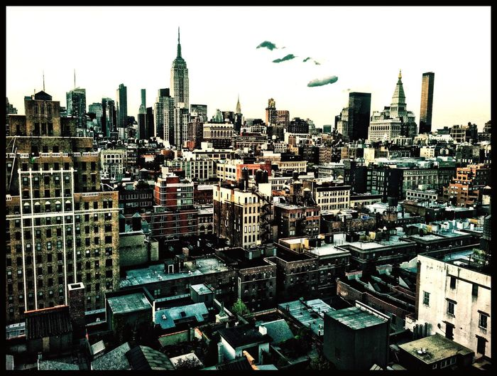 Aerial Shot EyeEm Best Shots NYC Skyline Vermeer Roof IPhoneography