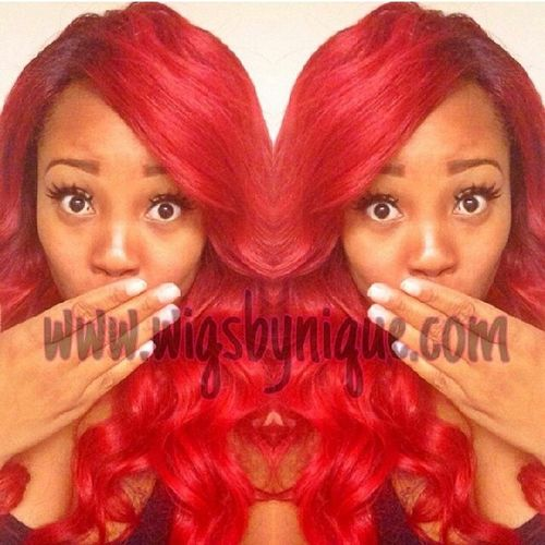 Go follow @wigsbynique Duval  DOPE Hair Weave wigs