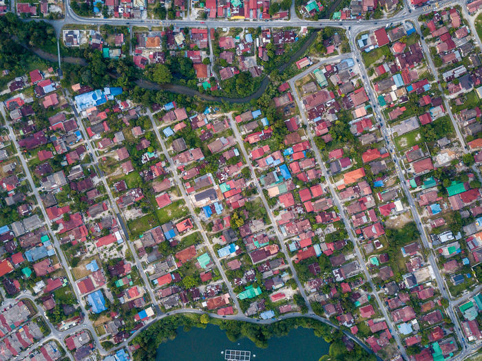 Top Down View - Residential District. Malaysia Outdoors Aerial View Aerial Aerial Shot Aerial Landscape Bird's Eye View High Angle View Pattern EyeEm Selects EyeEm Best Shots Patterns Architecture Building Exterior No People City Built Structure Building Shape Residential District Box House Nature Day City