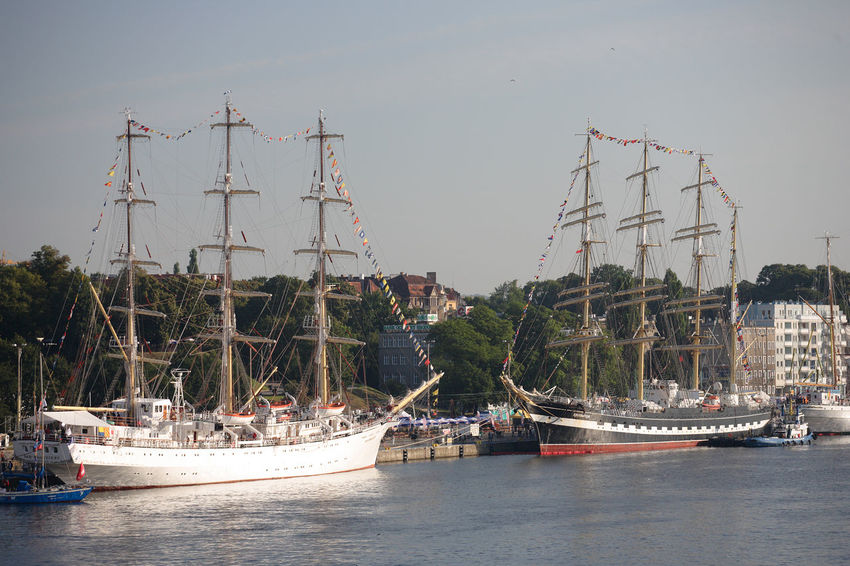 Harbor Odra Poland Segeln Szczecin Tall Ship Transportation Boat Day Mast Mode Of Transport Moored Nautical Vessel Polen River Sailboat Sailing Sailing Boat Ship Stettin Tall Ship Transportation Water Yacht