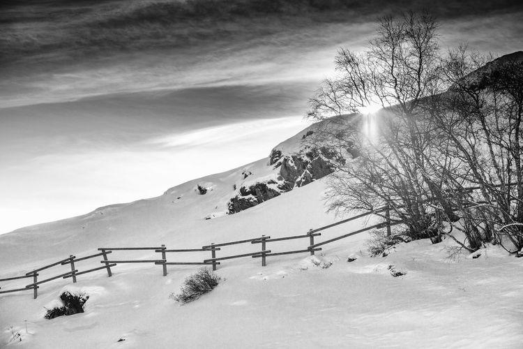 EyeEm Best Shots EyeEmNewHere WeekOnEyeEm Austria Obergurgl Beauty In Nature Cold Temperature Landscape Lens Flare Mountain Nature Oroszphotography Outdoors Scenics Snow Sun Sunbeam Sunlight Winter ötztal