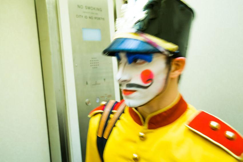 Showcase: December Nutcracker Soldier New York City Ballet Color Portrait Makeup The Dancer Close-up Portrait