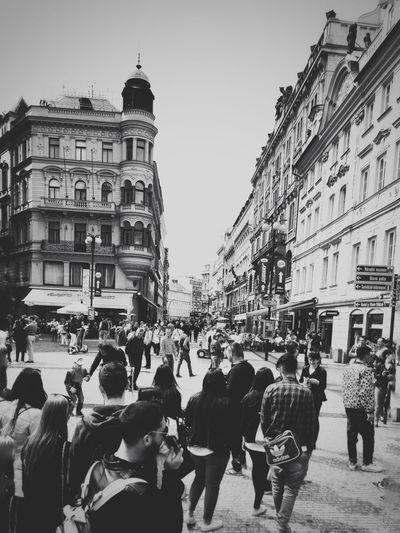 Snapshots Of Life Blackandwhite Urban Europe Streetphotography People IPSUrban
