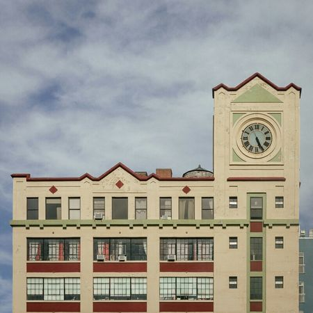 Downtown Brooklyn Architecture Clock Tower