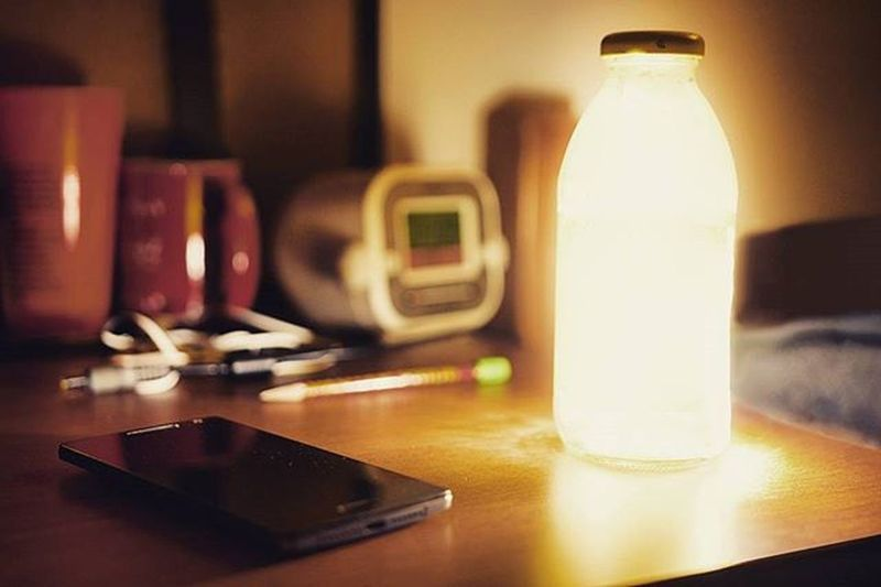 A bottle of light, filled with dreams. Dreams Light Bottle Lightinabottle Oneplus2 Oneplus Phone Bright Light Thepath Uva Theknowledge Knowledgeislife Life Inthenight Bottleofdreams Clock Time Coffeemug Ztprod