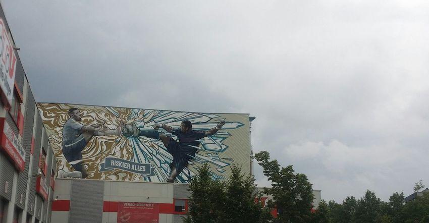 Streetphotography Streetart/graffiti Street Art Fussball