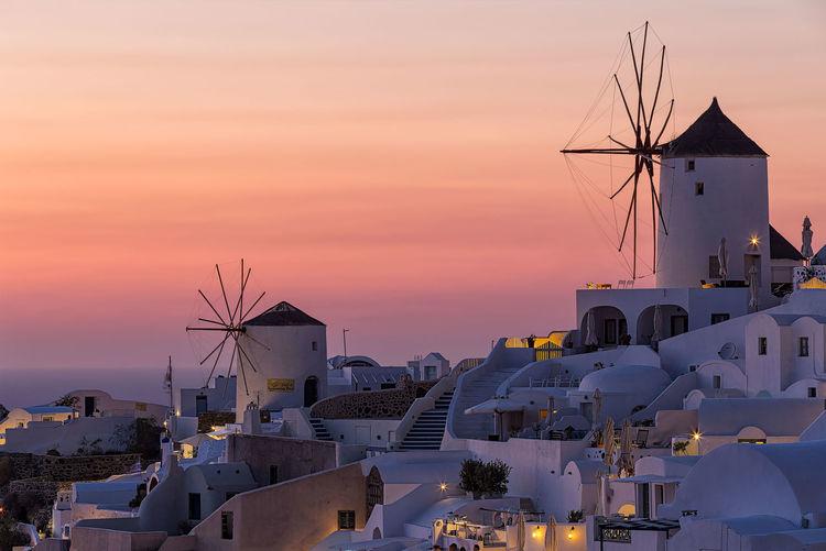 Oia sunset 6D 70-200mm Canon Greece Oia Santorini, Greece Sunset Tranquility