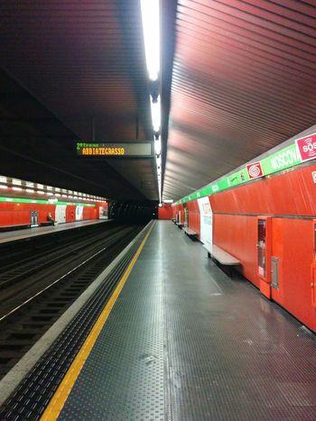 Metro Station Way To Go Home Moscova Milan
