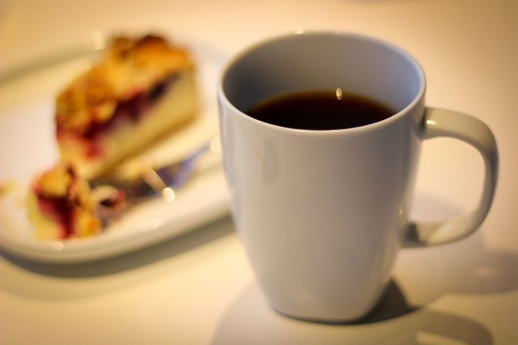 Coffee and Cake Food And Drink Drink Freshness Refreshment Indoors  Coffee Cup Table Food Plate Close-up No People Ready-to-eat Healthy Eating Day