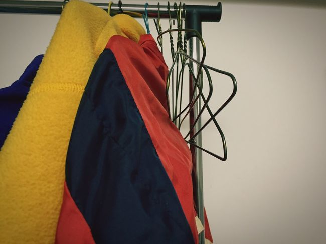 Coats Hanging Coathanger No People Clothing Consumerism Indoors  Close-up Day Vintage